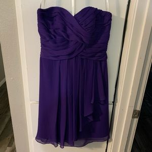 Sweetheart Sleeveless David's Bridal Formal Dress